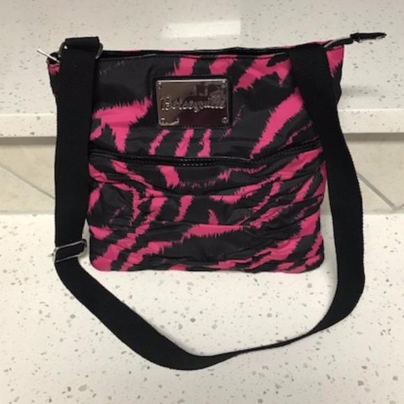 Betsey Johnson Handbags - Betsey Johnson Zebra Crossbody Purse